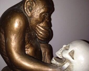 On Sale Darwin's Monkey Statue 1960's