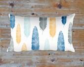 Feather Pillow, 12x20 inches rectangular pillow