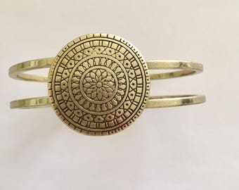 Vintage Brass Turkish Bangle