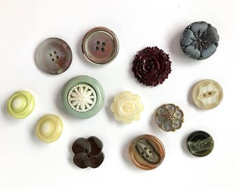 Vintage Lot of Buttons