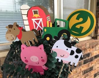 Farm themed centerpieces, Farm themed baby shower, Farm themed birthday, Farm themed decorations, Farm themed party, Farm themed supplies