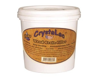 Crystalac Wood Grain Filler 8 or 32 Oz