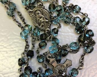 Glass beaded rosary