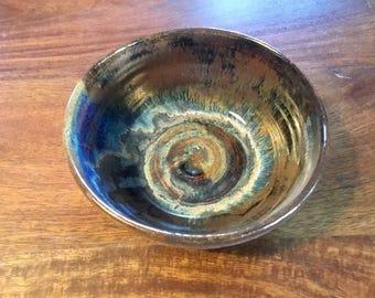 Pottery wheel thrown bowl