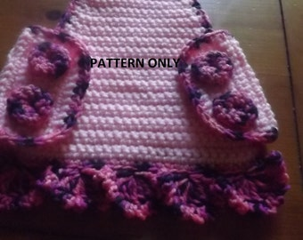 Pattern only - Crochet Chicken Sweater