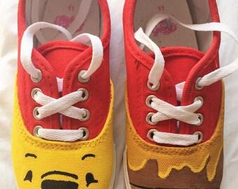 Kids Custom Painted Shoes