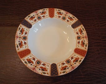 Queen's IMARI Soup Bowl India - Excellent Condition, Vintage, Movie Prop, Looks Unused