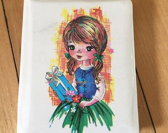 Vintage 1970s Diary Journal Book!