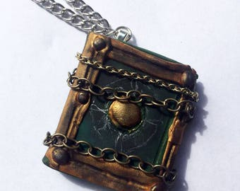 Doctor Strange Magic Book Necklace