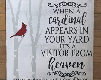 Cardinal Heaven Sign