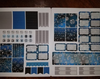Space Weekly Planner Kit