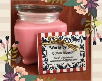 COTTON BLOSSOM 10-oz. soy candle