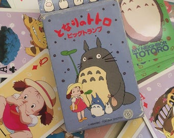 Kawaii Totoro card game from studio Ghibli in Japan