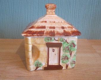 Westminster Cottage Ware Lidded Sugar Bowl