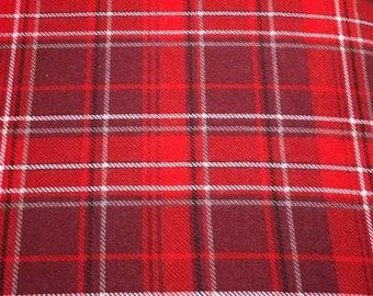 Plaid Flannel Crib Sheet