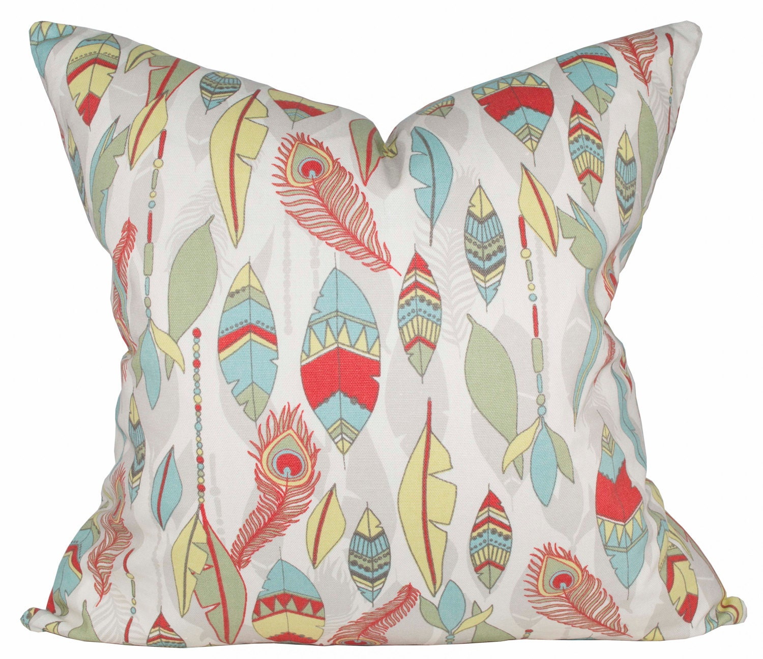 Southwestern Pillow Cover Feather Pillow Cover Premier