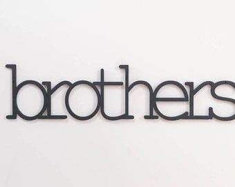 brothers wall sign sibling shared room sign big brother sign toddler room sign nursery wall decor twin nursery sign