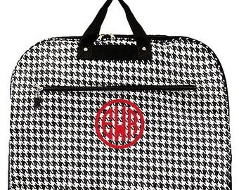 Monogram Houndstooth Garment Bag