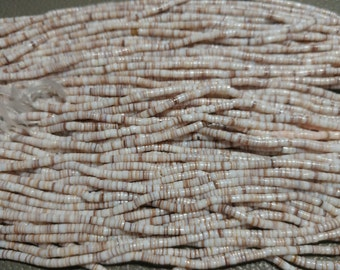 Arabic Shell Heishi Strands. Handcrafted in Philippines (2050050)