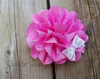 Hair Accessory, Girls Accessory, Baby Headband, Flower Headband, Spring Flower, Valentine's, Photo Prop, Girls Hairclip, Valentine Headband