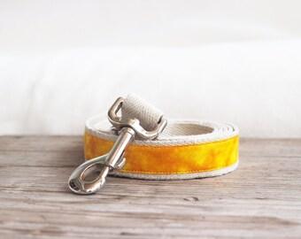 Tie dye hemp dog leash, matching leash for Tie dye collar