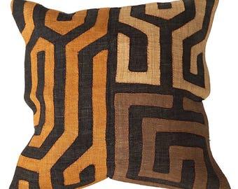 "Kuba Cloth Pillow Case 20""x20"""
