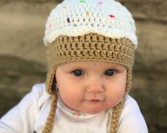 Newborn/Baby/Toddler/Child/Teen/Adult Cupcake Hat/Photo Prop