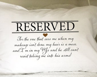 Personalized Custom Pillow Cases - This one is for the single girl!