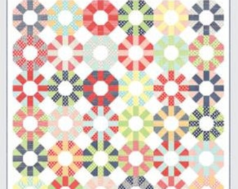 """Colorway Quilt Kit featuring Bonnie and Camille Basics 76"""" x 76"""""""