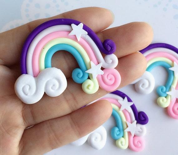 38x52mm.Miniature Cabochon Rainbow,Miniature Cabochon,Miniature Sweet,Mobile Accessories,Miniature DIY,Miniature Sunrise