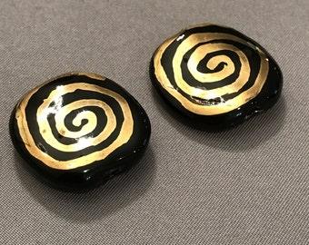 Handmade Ceramic Kazuri Beads from Nairobi, Africa
