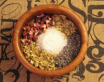 Herbal Bath Tea, Herbal Bath Soaks for Natural Healing