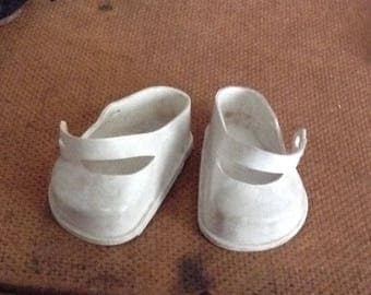 Vintage Ideal Rubber Doll Shoes