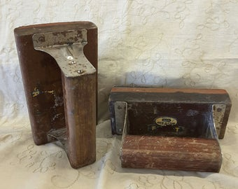 Vintage Commercial Freight Ink Stamps