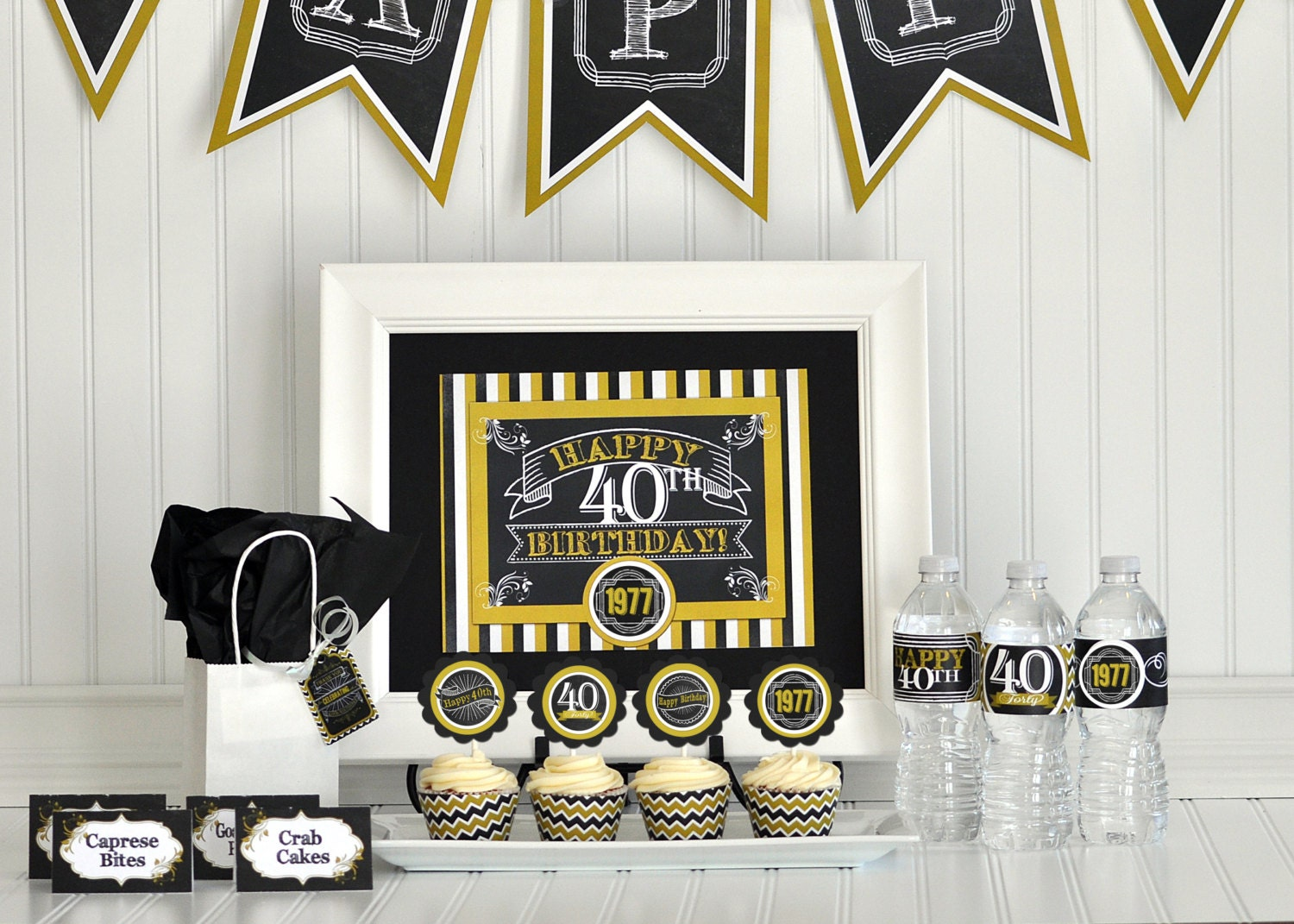 40th birthday party package 40th birthday decorations 40th for 40 birthday decoration ideas