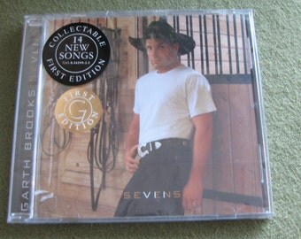 Garth Brooks Sevens CD Sealed First Edition Country Music 1997