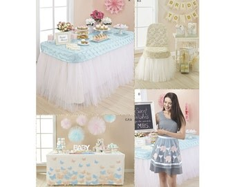 Simplicity Sewing Pattern 8353 Party Décor and Accessories