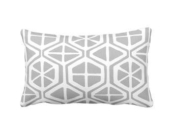 11 Sizes Available: Gray Lumbar Pillow Cover Gray Pillow Cover Decorative Pillows for Couch Pillows Grey Pillow Grey Pillowcase Grey Cushion