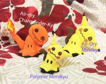 Mimikyu Pokemon Clay Sculpture- Multiple Options Available