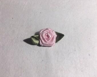 Satin rosettes ~
