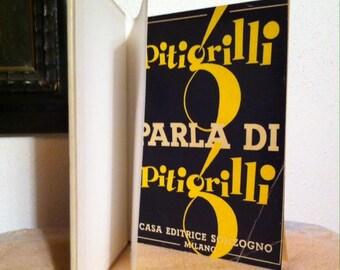 Pitigrilli parla di Pitigrilli old book 1951