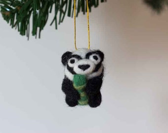 Cute christmas angel tree topper christmas decor keepsake for Panda bear decor