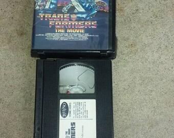 Transformers movie  VHS Original 80s