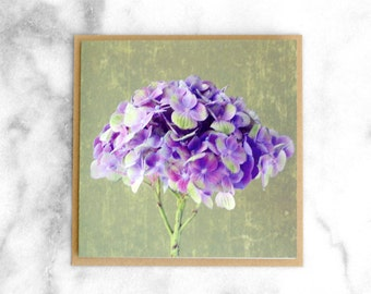 Magical Amethyst - Square Greeting Card