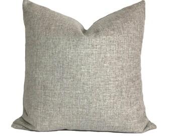 Grey pillows, Decorative pillow covers, Throw pillow, Sofa cushion, Shams, Lumbar pillow, 12x20, 16x16, 18x18, 20x20, 22x22, 24x24, 26x26