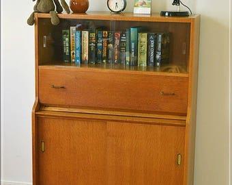 vintage bureau desk teak Beautility mid century danish design
