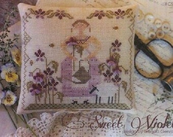 Sweet Violet Pin Keep Kit by With Thy Needle and Thread