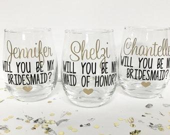 Bridesmaid Proposal Gift, Asking Bridesmaid, Bridesmaid Gift, Will you be my bridesmaid, Will you be my maid of honor