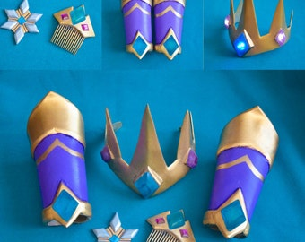 Crystal Maiden Dota 2 Regalia of the Crystalline Queen Costume crown