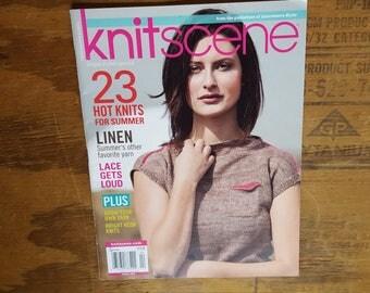 Rare knitting pattern book: Knitscene